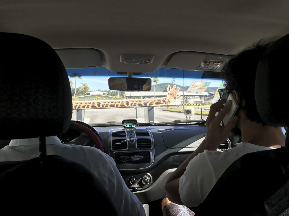 Auf dem Weg zu Giustina