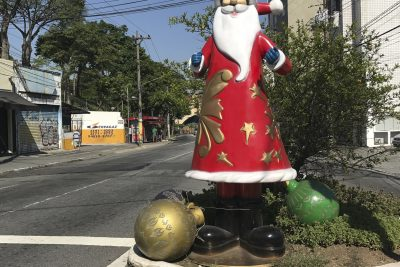 Weihnachten bei 30°C – Cambuci, São Paulo