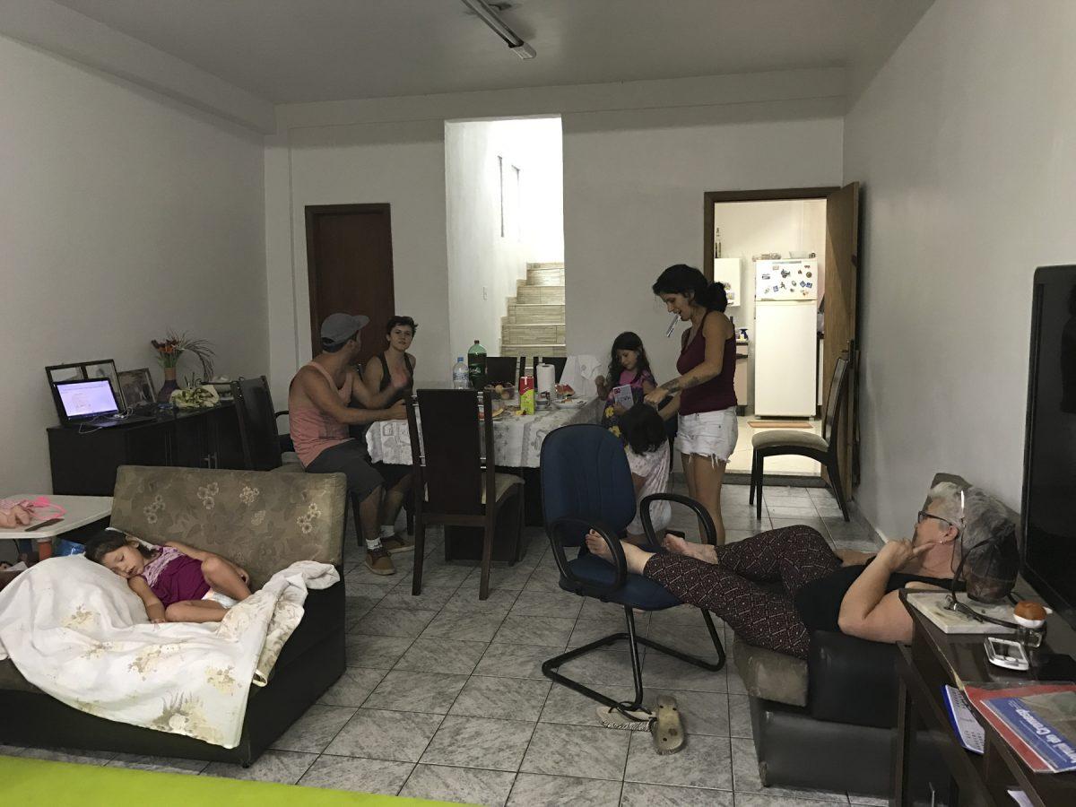 Wie eine grosse Familie bei Tante Filomena