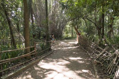Joggingstrecke im Parque da Independência