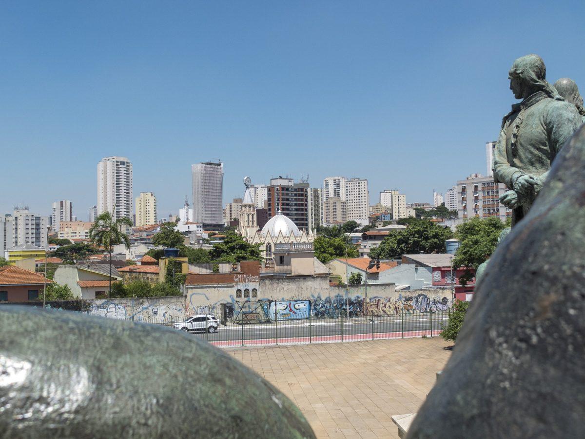 Blick vom Monumento à Independência aus