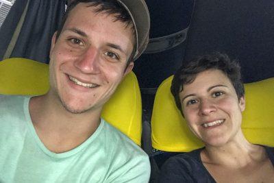 Im Bus nach Salvador