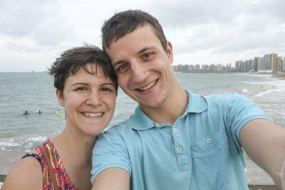 Am Strand von Fortaleza