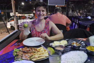 Ein «kleines» Abendessen in Fortaleza