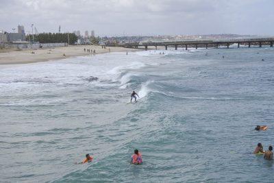 Surfer in Fortaleza