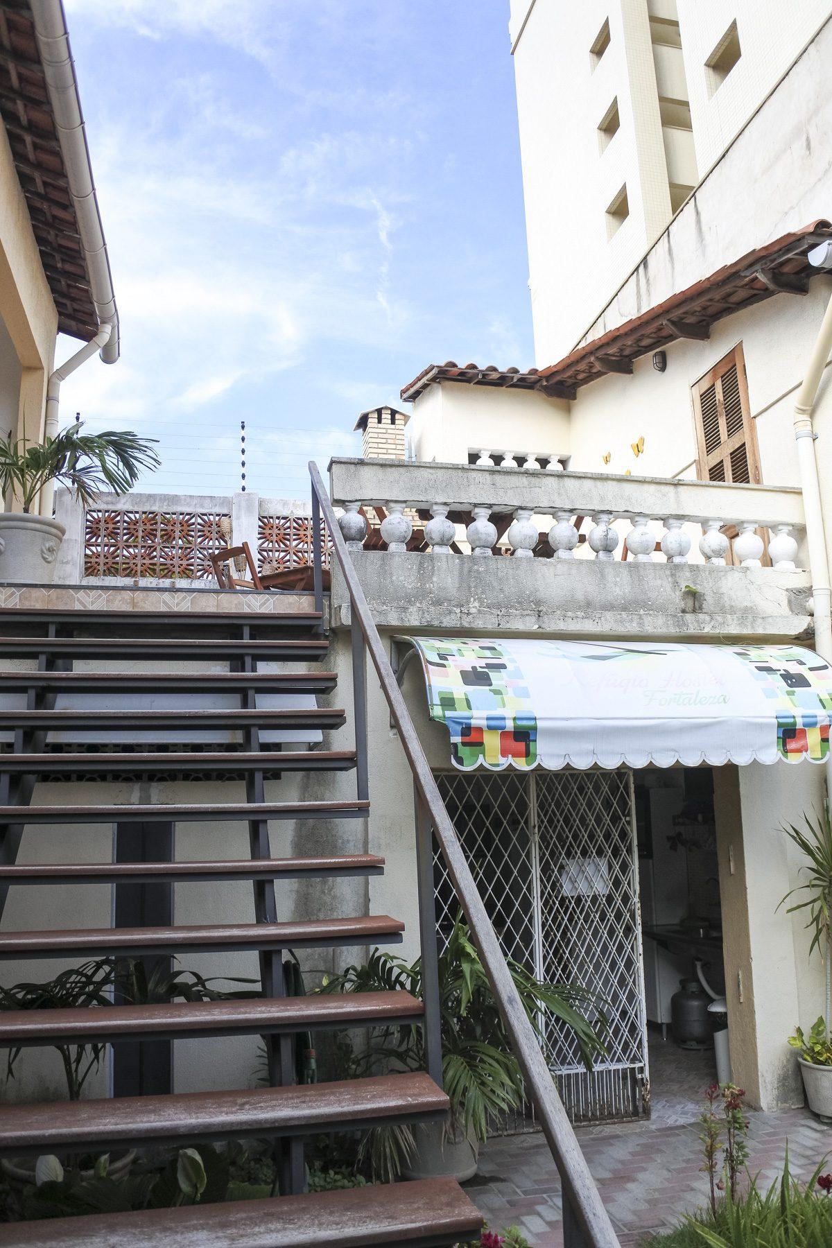 Unser Hostel in Fortaleza