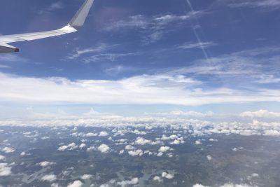 Flug nach Fortaleza
