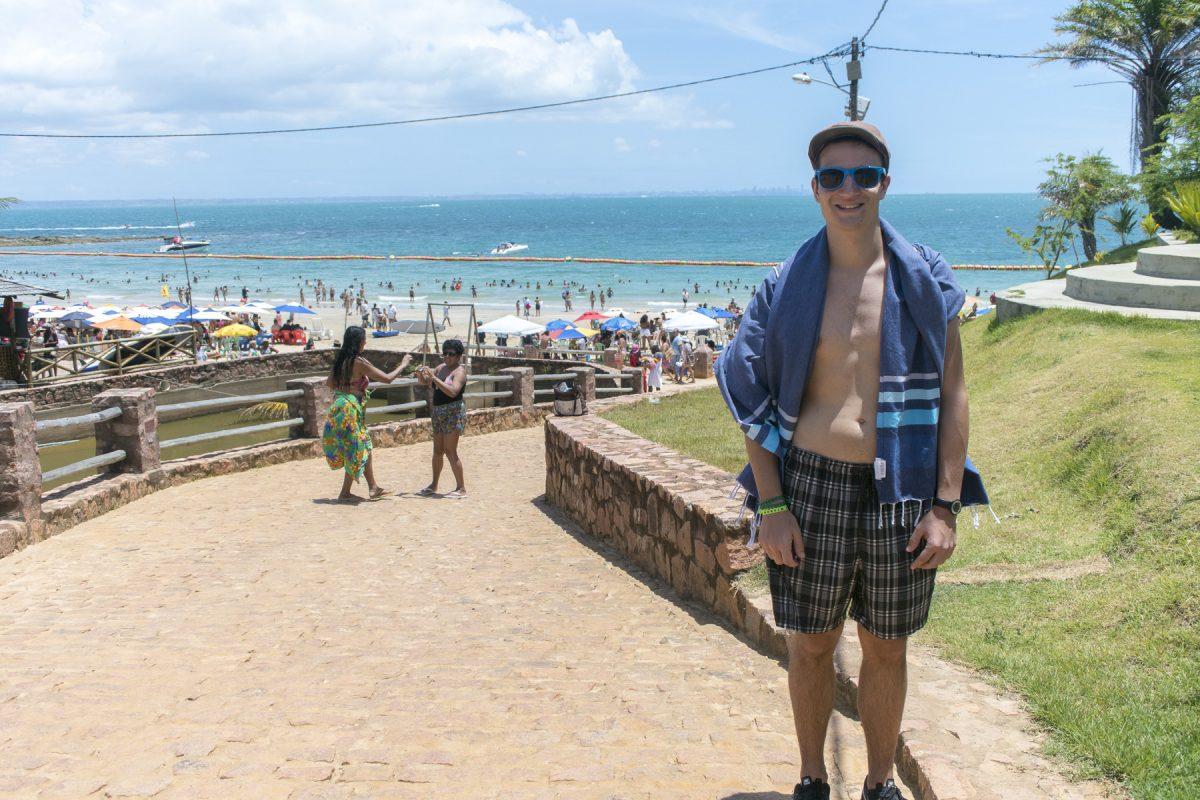 Michael auf der Ilha dos Frades