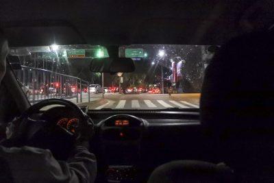 Uber-Fahrt in Recife