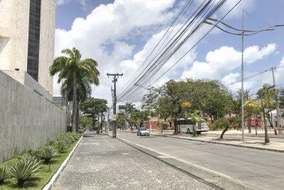 Auf dem Weg zur Altstadt in Recife