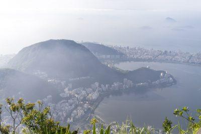 Aussicht vom Corcovado aus