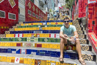 Michael @ Escadaria Selaron