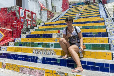 Marina @ Escadaria Selaron