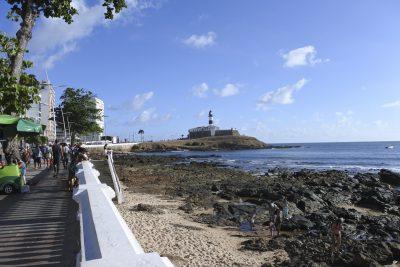 Strand in Barra, Salvador