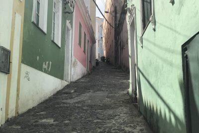 Gässlein in Pelourinho, Salvador