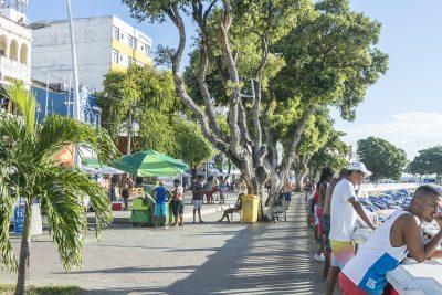 Strandpromenade in Barra, Salvador