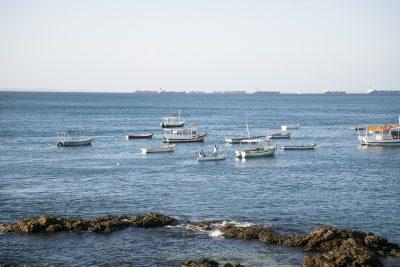 Boote in Barra, Salvador