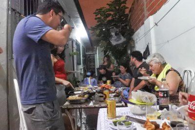 Grosses Abendessen
