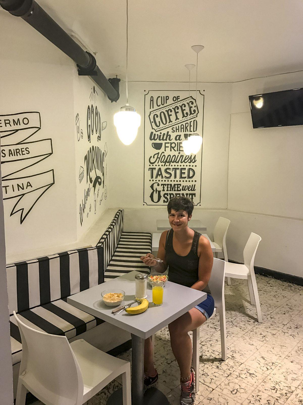 Morgenessen im Art Factory Soho Buenos Aires