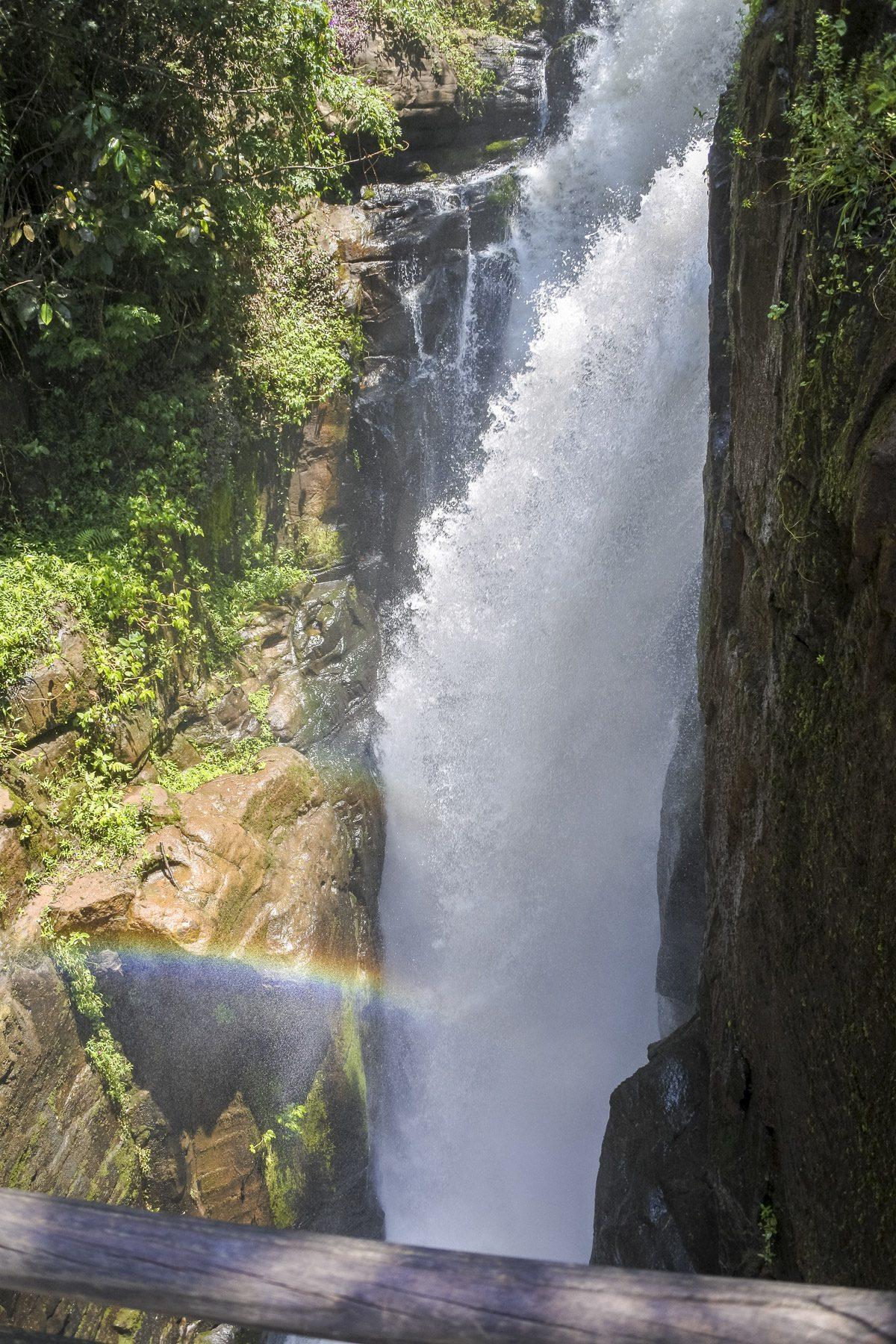 Wasserfall Nationalpark Iguazú