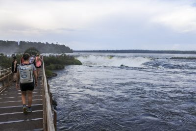 Devils Throat Iguazú-Wasserfälle