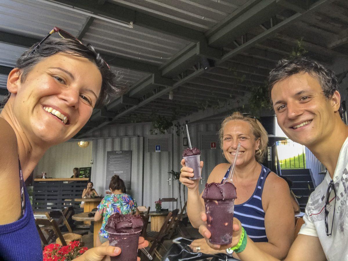 Letzte Portion Açai in Brasilien