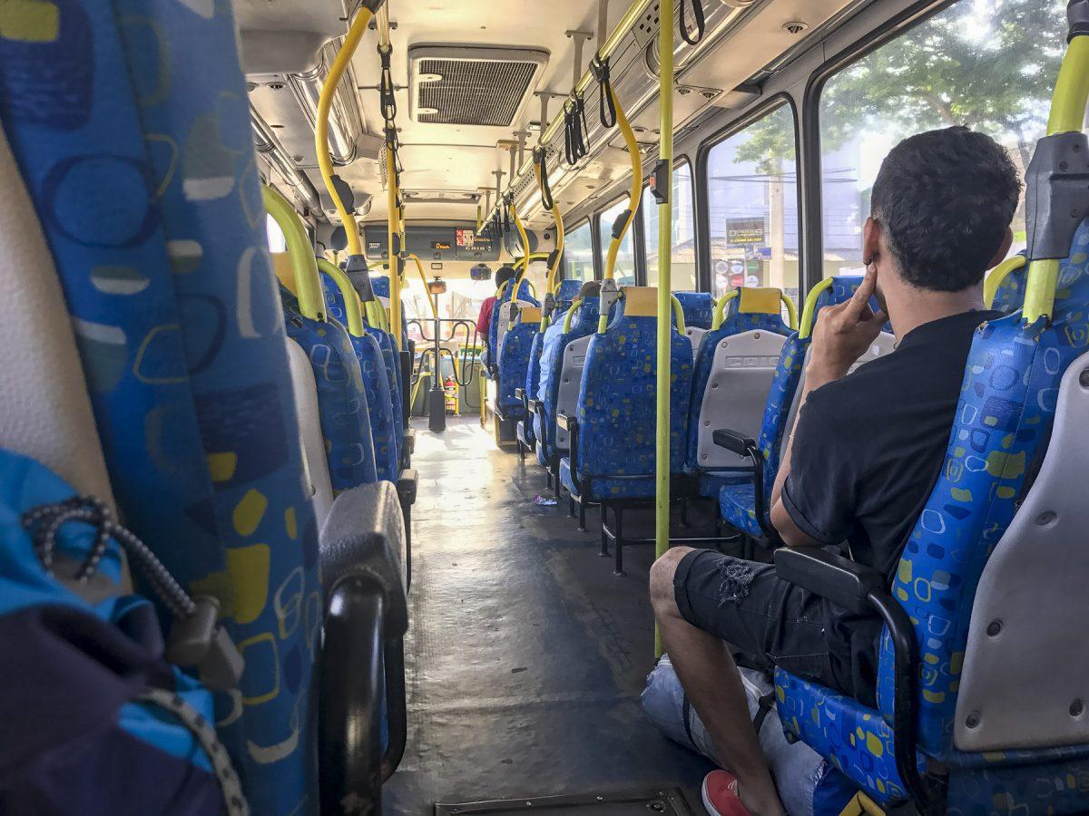Bus nach Puerto do Iguazú