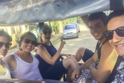 Jeep-Fahrt zum Praia de Castelhanos