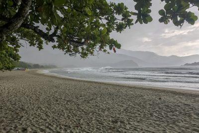 Regen! Praia de Castelhanos