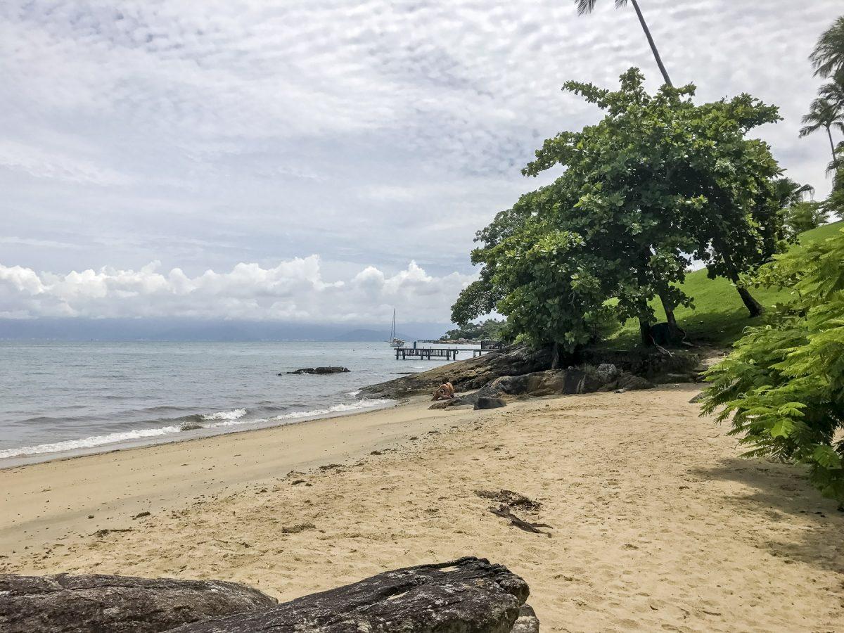 Ilhabela Strand im Norden