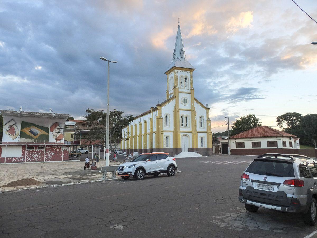 Kirche in São Gonçalo do Sapucaí