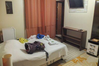 Unser Hotelzimmer im Novo Hotel