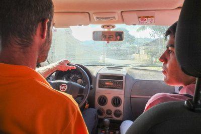 Fahrt mit Alessandro und Augusto