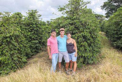 Augusto, Michael und Marina – Sitio Arroza