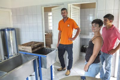 Honigproduktion von Alessandro