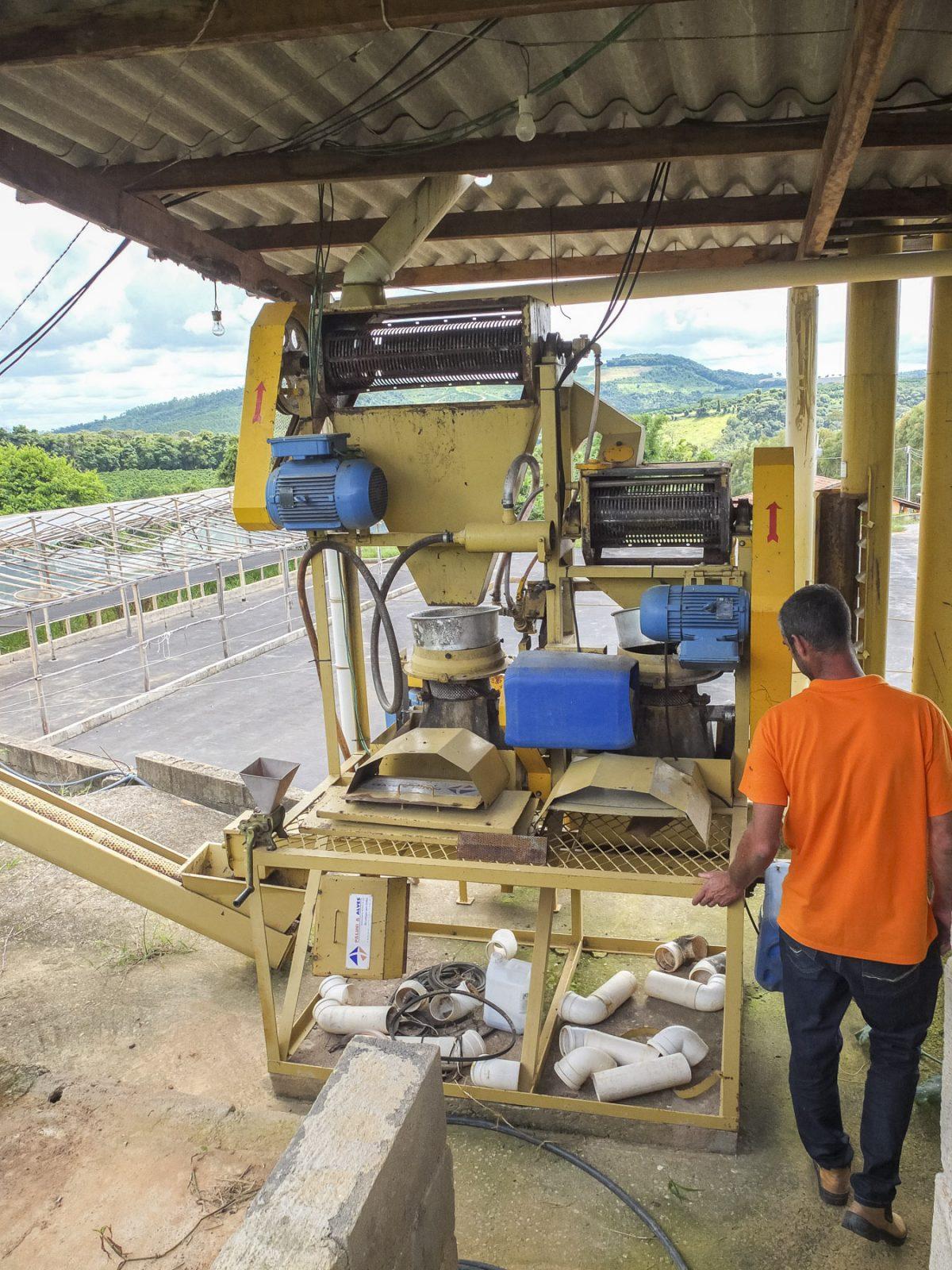 Entpulpungsmaschine