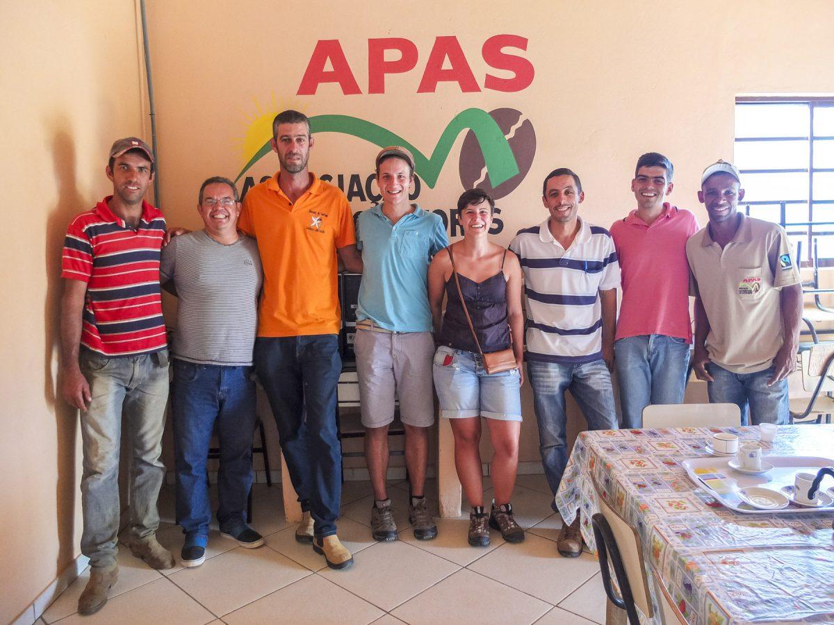 Gruppenfoto mit APAS