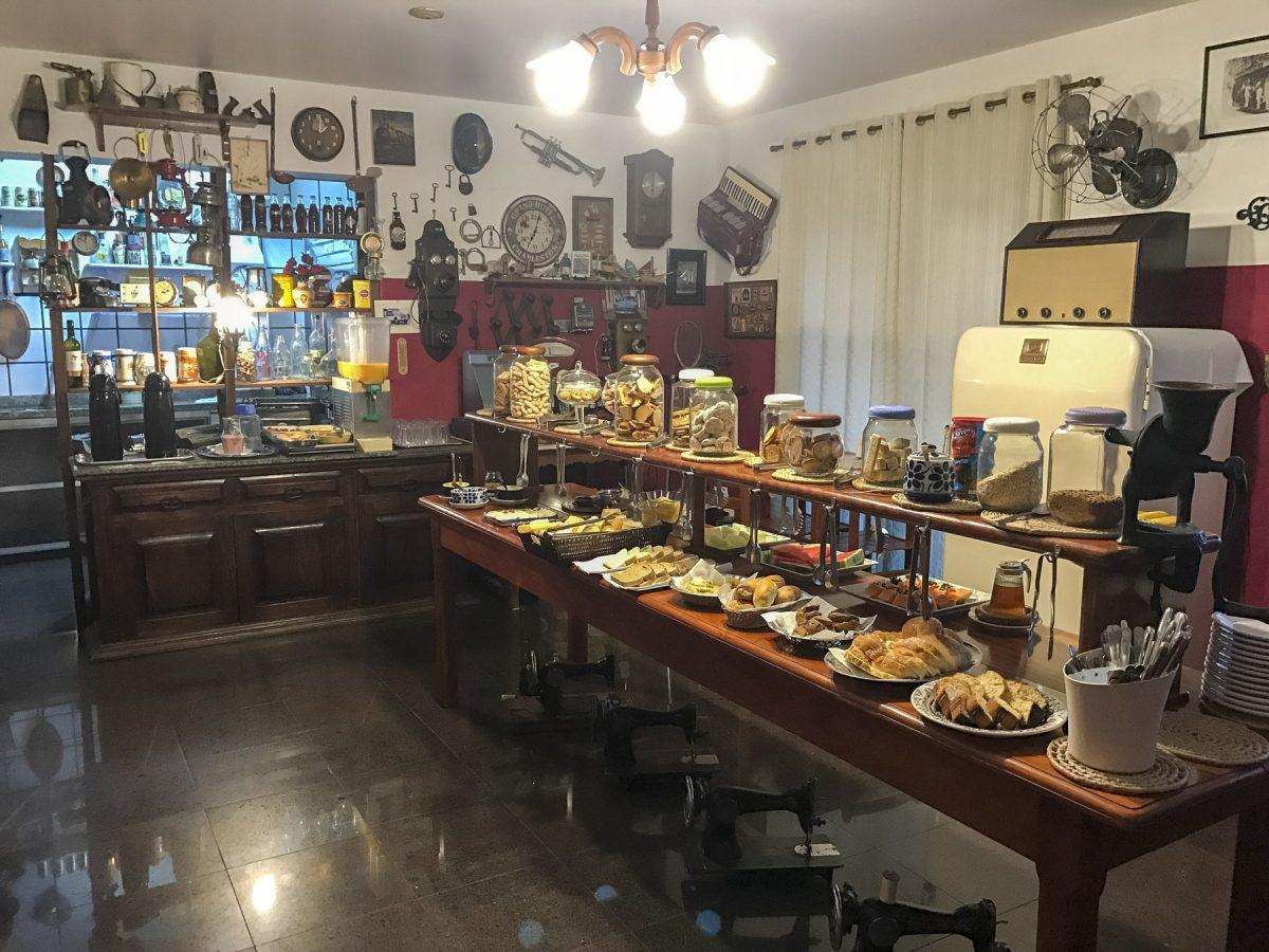 Frühstücksbuffet im Novo Hotel