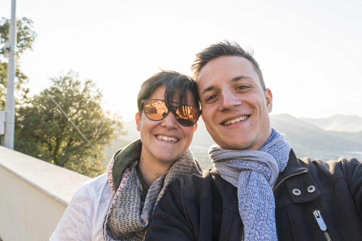 Zu zweit in Italien