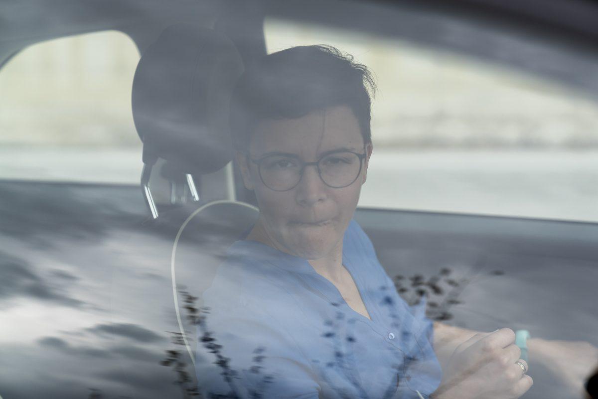 Marina auf dem Weg nach Calitri