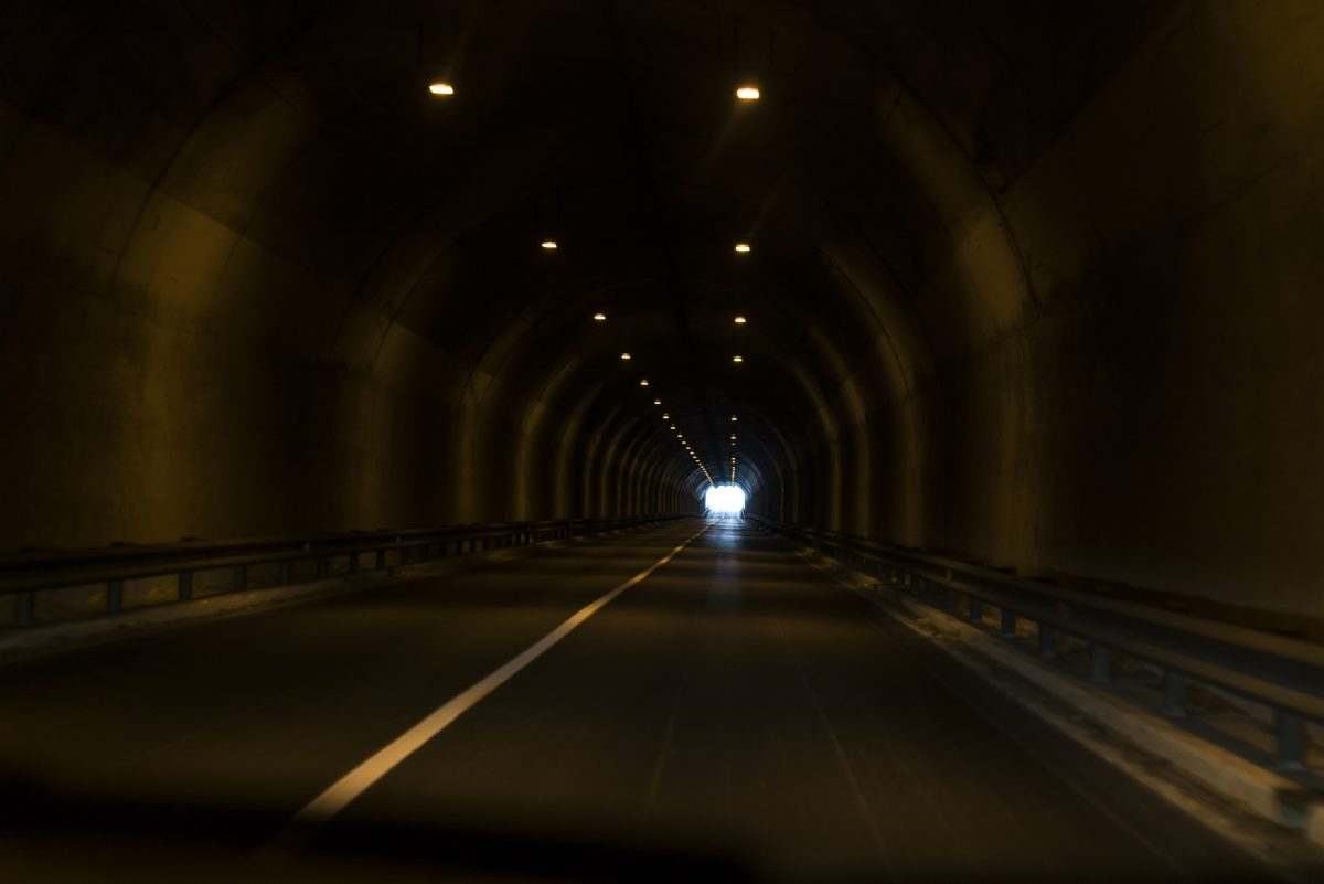 Tunnel nach Calitri
