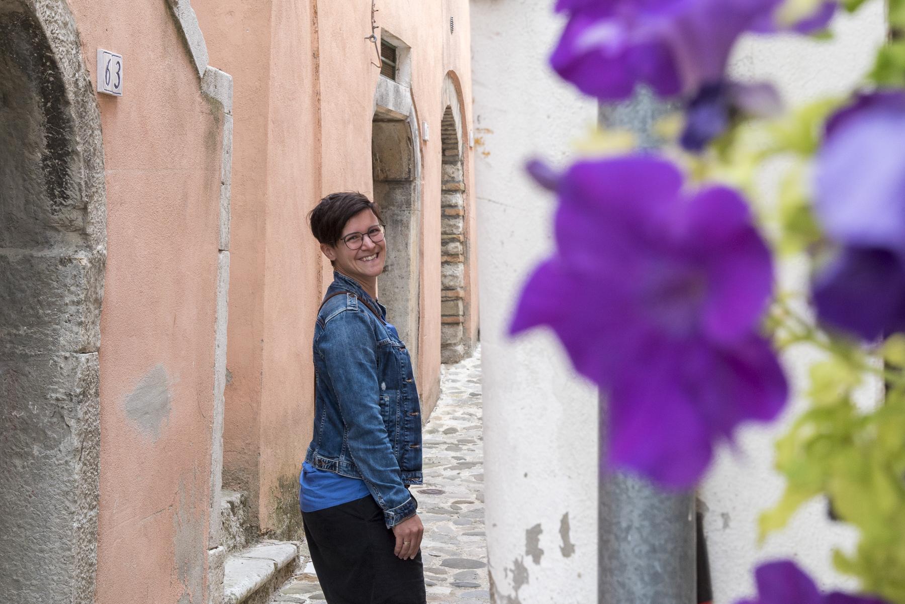Marina in der Altstadt von Altstadt von Calitiri