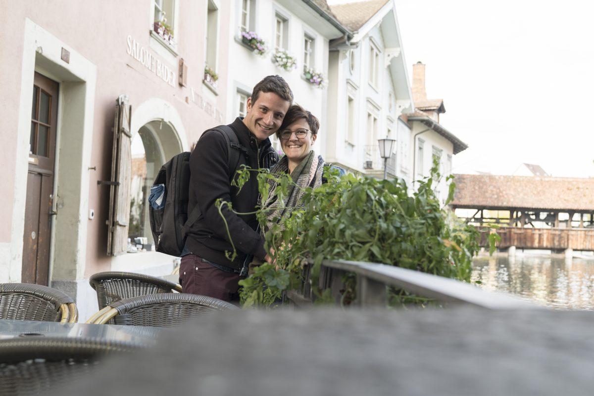 Michael und Marina in Thun