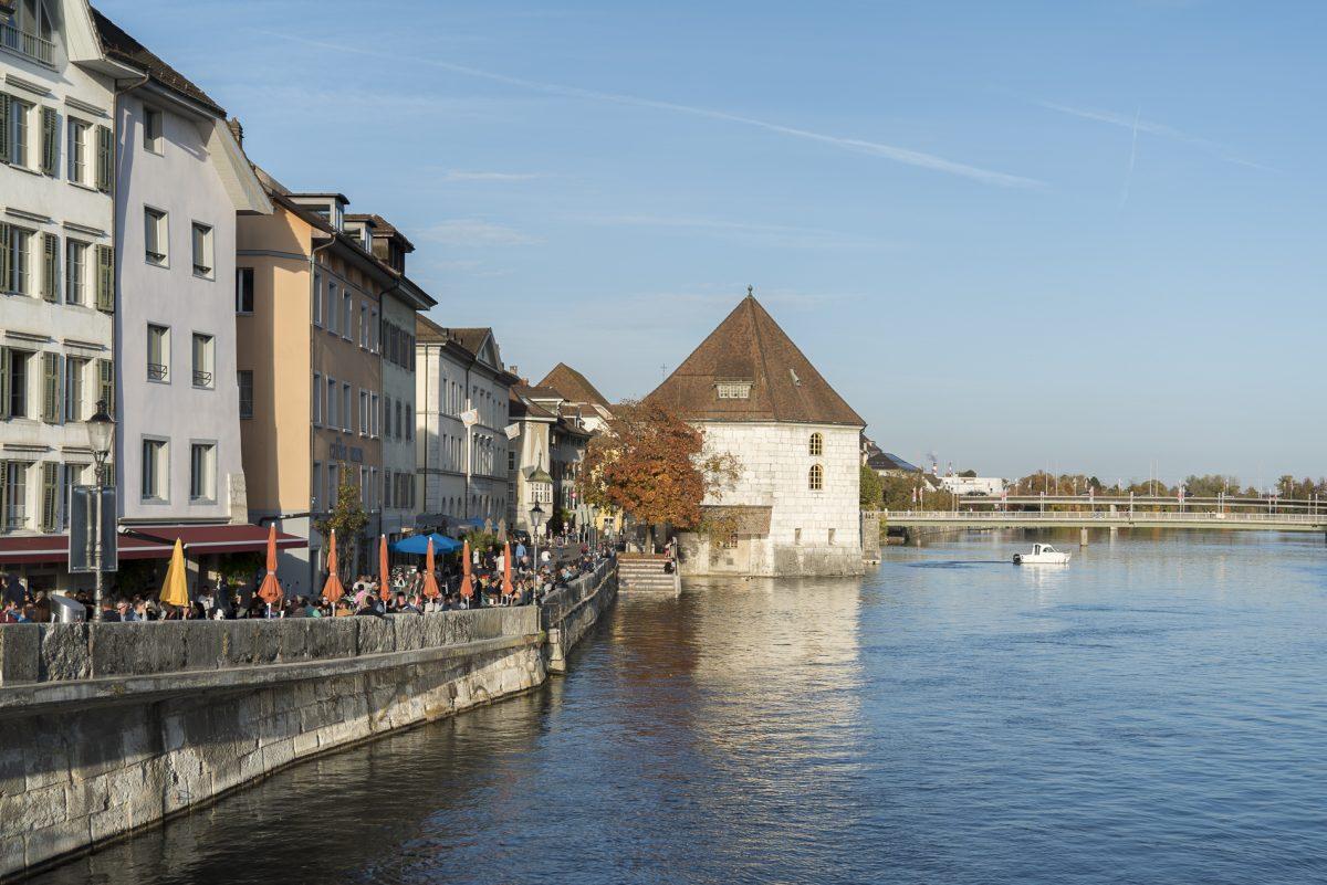 Letzter Blick auf Solothurn
