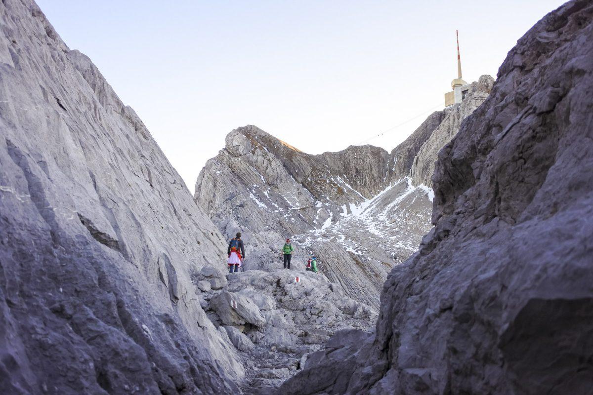 Wanderung zum Säntis
