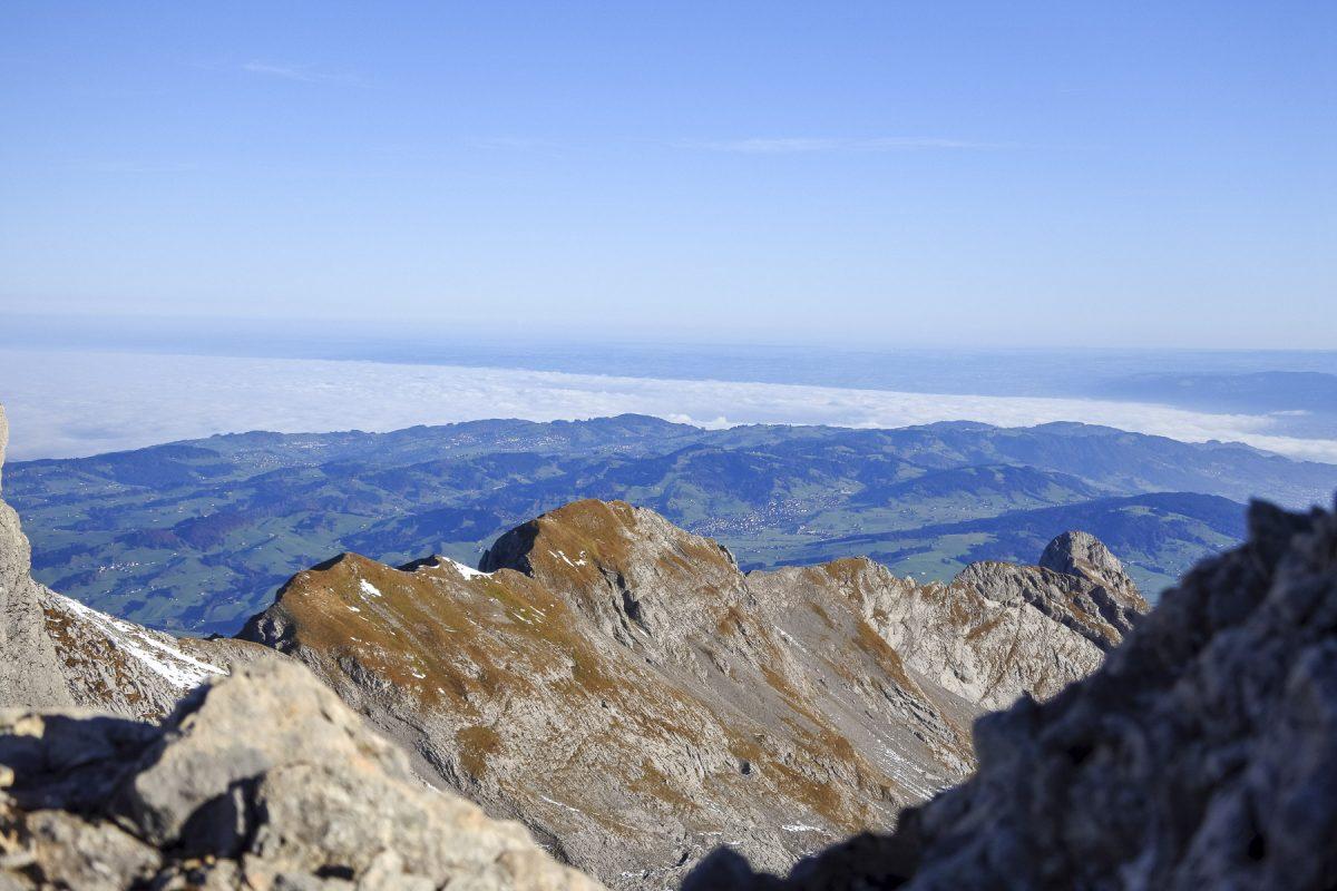 Der Bodensee im Nebel
