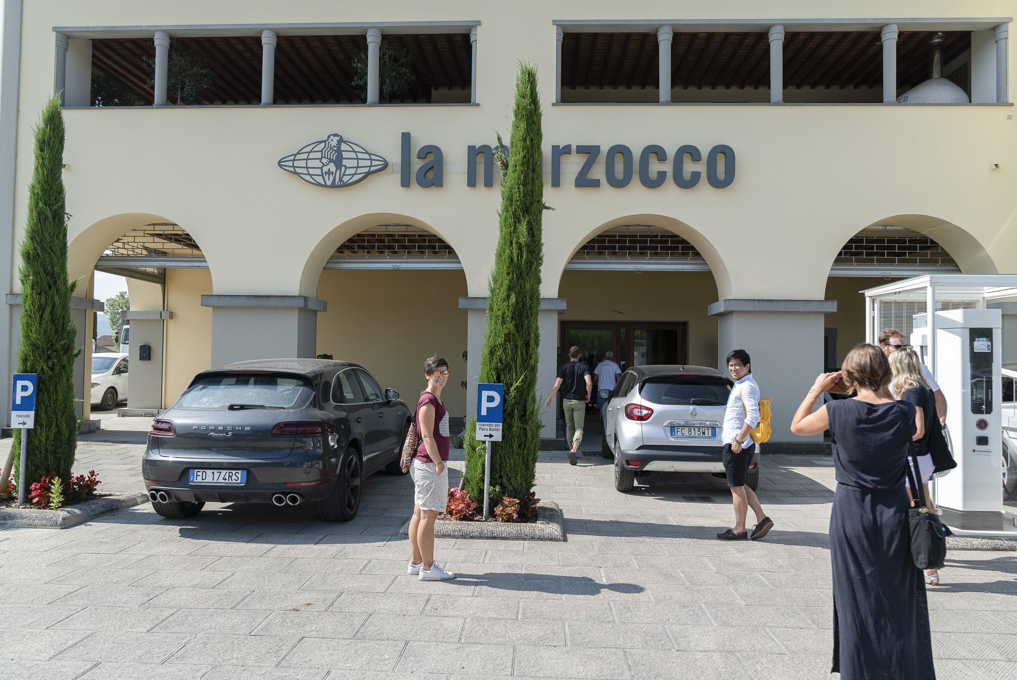 Firmenhauptsitz von La Marzocco von aussen