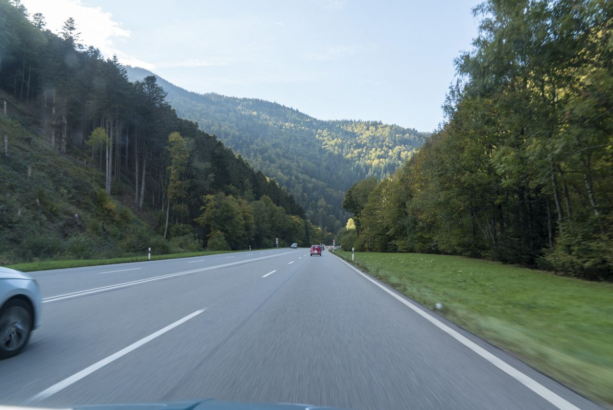 Letzte Kilometer vor Freiburg