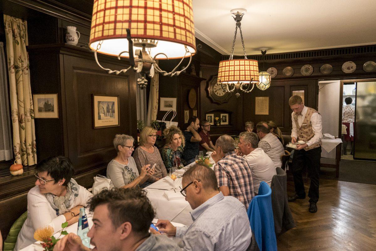 Abendessen in der Oberkirch Weinstuben